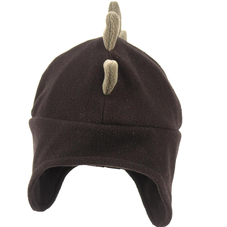 c35b061355d Amazon.com  Fleece Mohawk Style Trapper Hat (BLACK)  Clothing