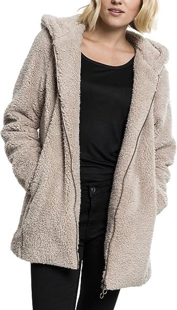 Urban Classics Ladies Sherpa Jacket Felpa Donna: Amazon.it
