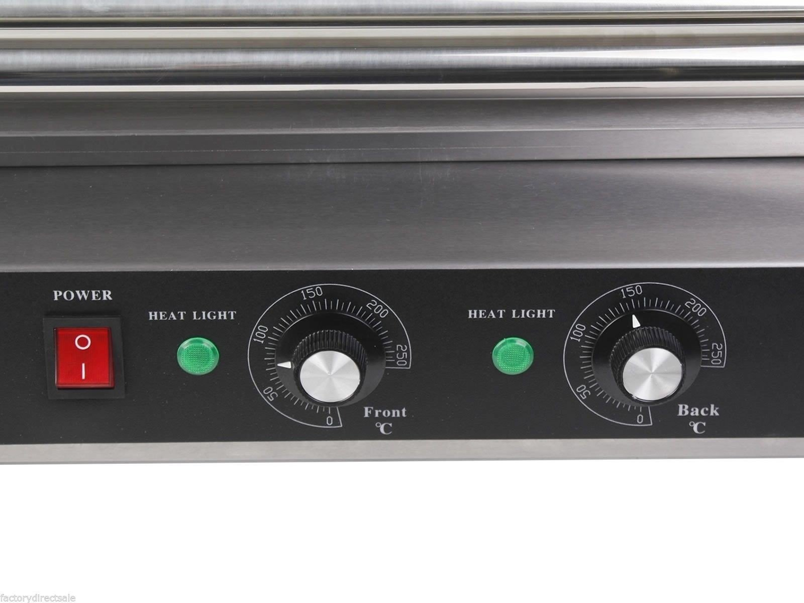 Commercial 30 Hot Dog 11 Roller Grill Cooker Machine by Hulaloveshop (Image #6)