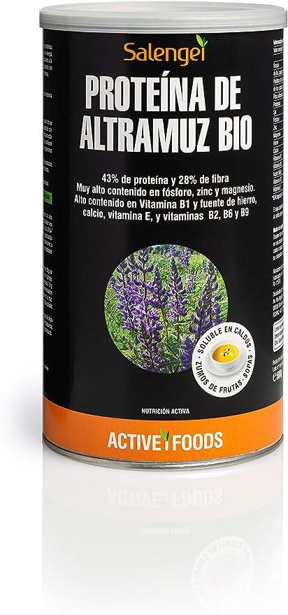 Proteína de Altramuz Bio - 500 gr (Active Foods): Amazon.es ...
