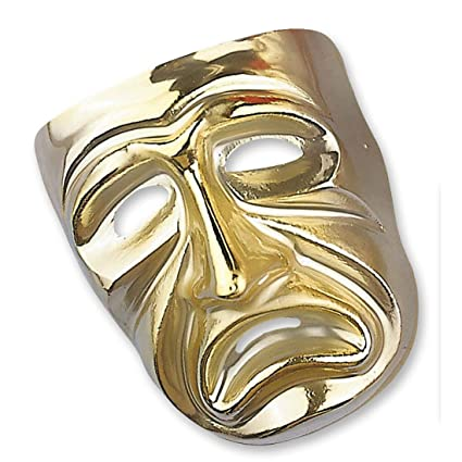 Máscara llorosas veneciana de oro máscara dorada de la bola de Venecia ojos Máscara Máscara Máscara