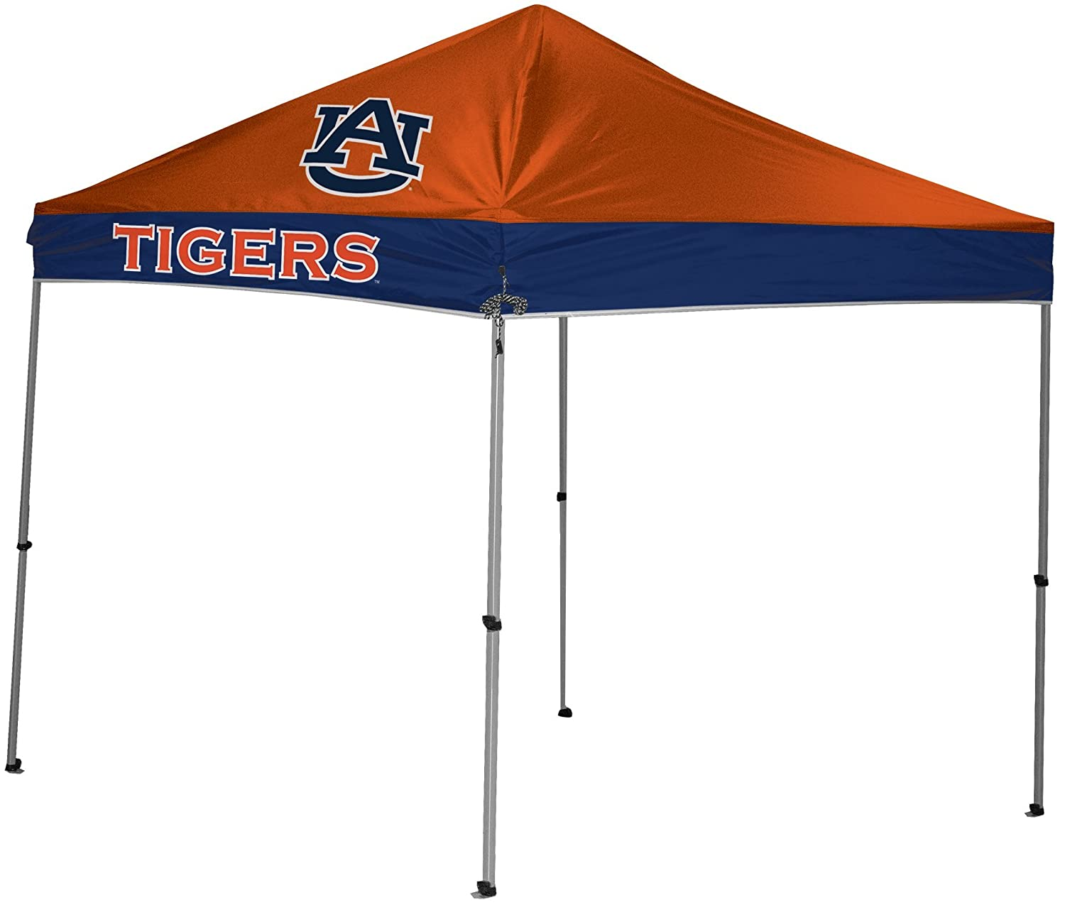 NCAA Instant Pop-Up Canopy Tent with Carrying Case, 9x9