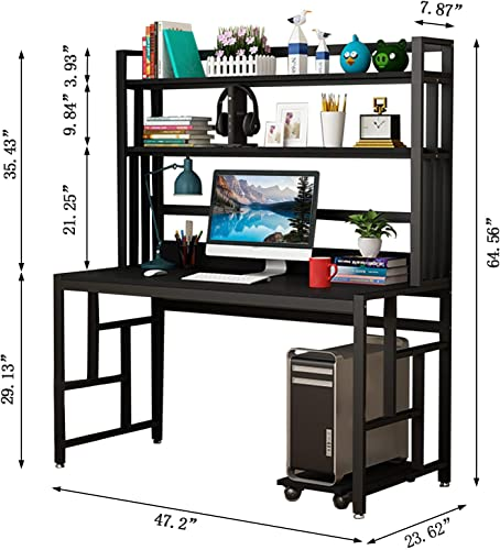 47″ Computer Desk Modern Office Desk