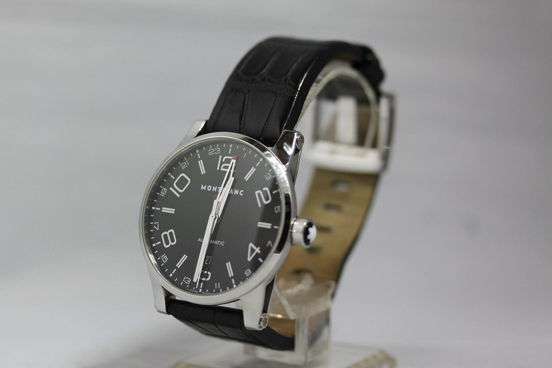 HA58 MONT BLANC(モンブラン) 腕時計  M29430 タイムウォーカーXL GMT 裏スケ 黒文字盤 メンズ USED(中古) 【並行輸入品】 B00G97NK9G