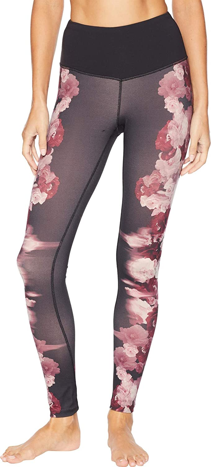 fc0d76b37727d9 The North Face Women's Motivation High-Rise Printed Tights 28in - TNF Black  Peony Print - XL: Amazon.co.uk: Clothing