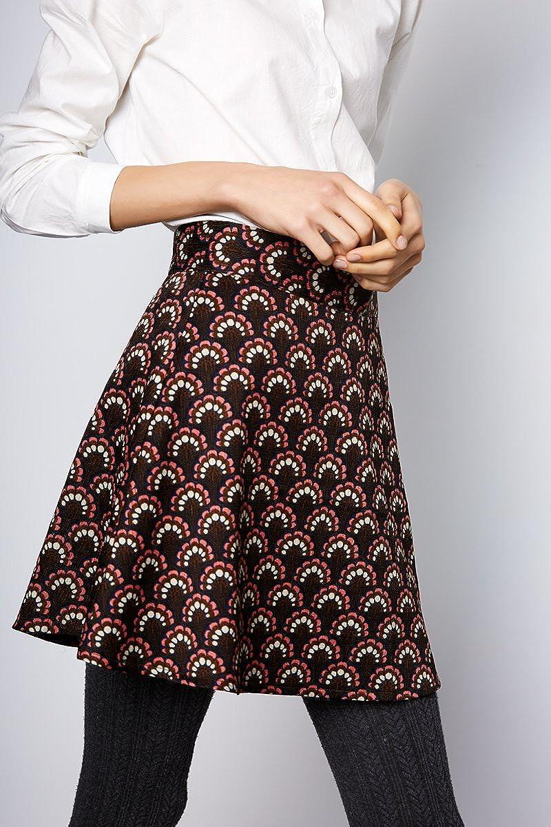 Compañia Fantastica Casino Skirt Falda Casual, Multicolor (Print ...