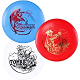 D·D DYNAMIC DISCS Latitude 64° SPZ Disc Golf Starter Set | Set Includes a Base Plastic Superhero, Pirate, and Zombie…