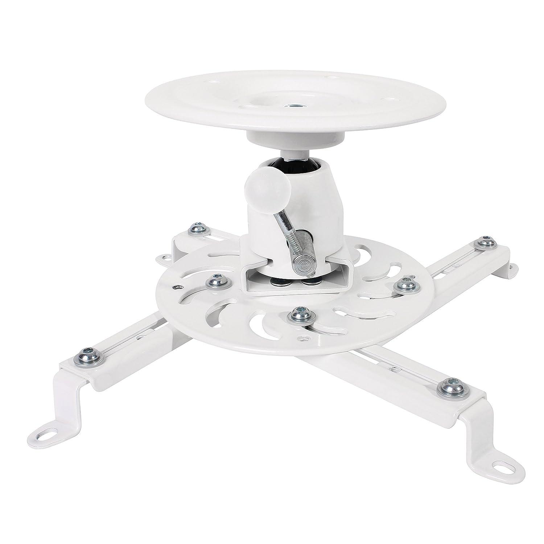 LogiLink BP0056 Montaje para Projector Techo Blanco 20-20/°, 360/°, -20-20/°, RoHS, 135 mm, 515 mm Soporte