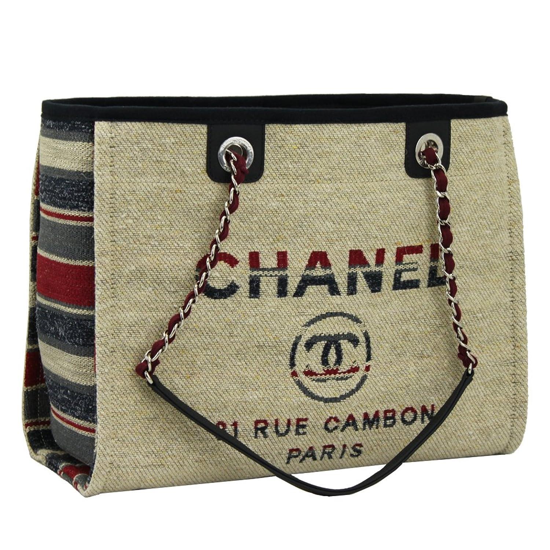 CHANEL(シャネル) トートバッグ ドーヴィル チェーントート ミディアム A67001 Y83713 5B201[並行輸入品] B07DR823VH