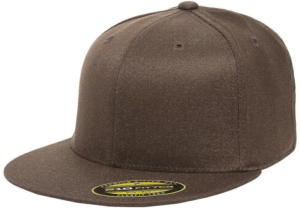 95f1d4f042cdb Flexfit Premium 210 Fitted Flat Brim Baseball Hat
