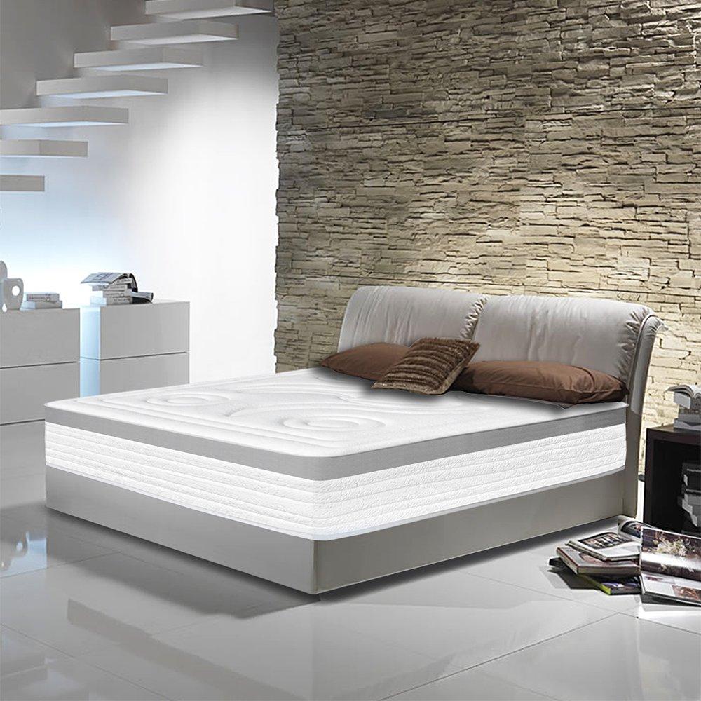 Colchón Viscoelástico MARBELLA 150 x 190 x 22 cm - Firmeza media - Coleccion HOTEL: Amazon.es: Hogar