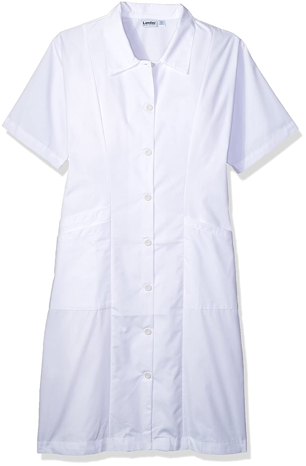 Landau Women's Short Sleeve Student Nursing Scrub Dress