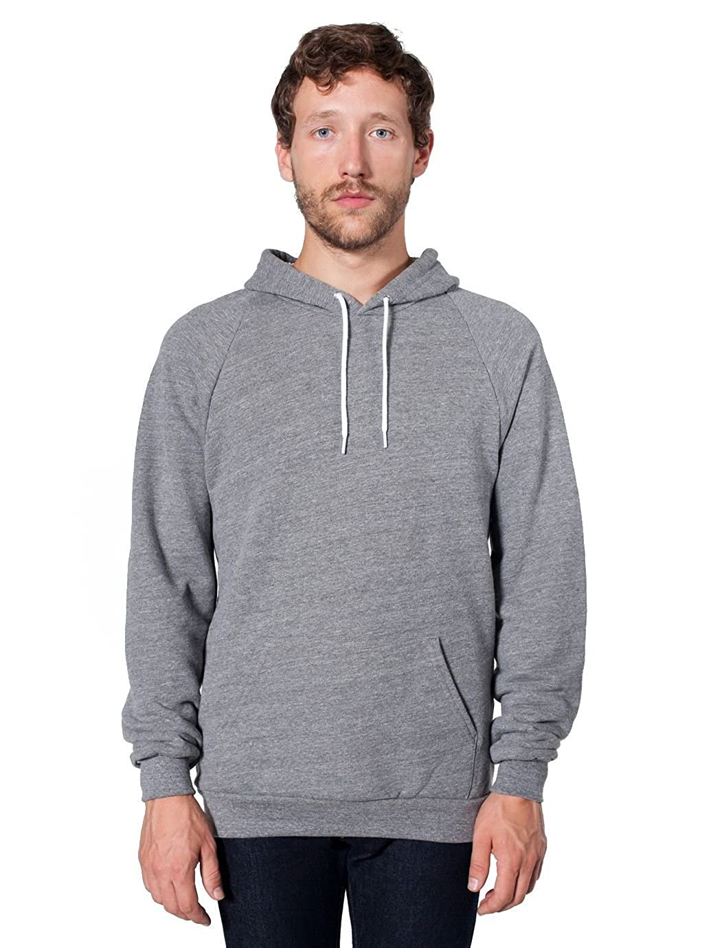 American Apparel Men Classic Pullover Hoodie at Amazon Men's ...