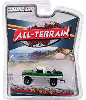 """1969 FORD F-100 PICKUP TRUCK /""""QUAKER STATE/"""" GREEN 1//64 CAR BY GREENLIGHT 41050 D"""