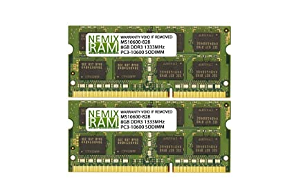 8GB PC3L-10600 DDR3 204 pin 1.35v Memory For Mac mini Mid-2011 A1347 MC815LL//A
