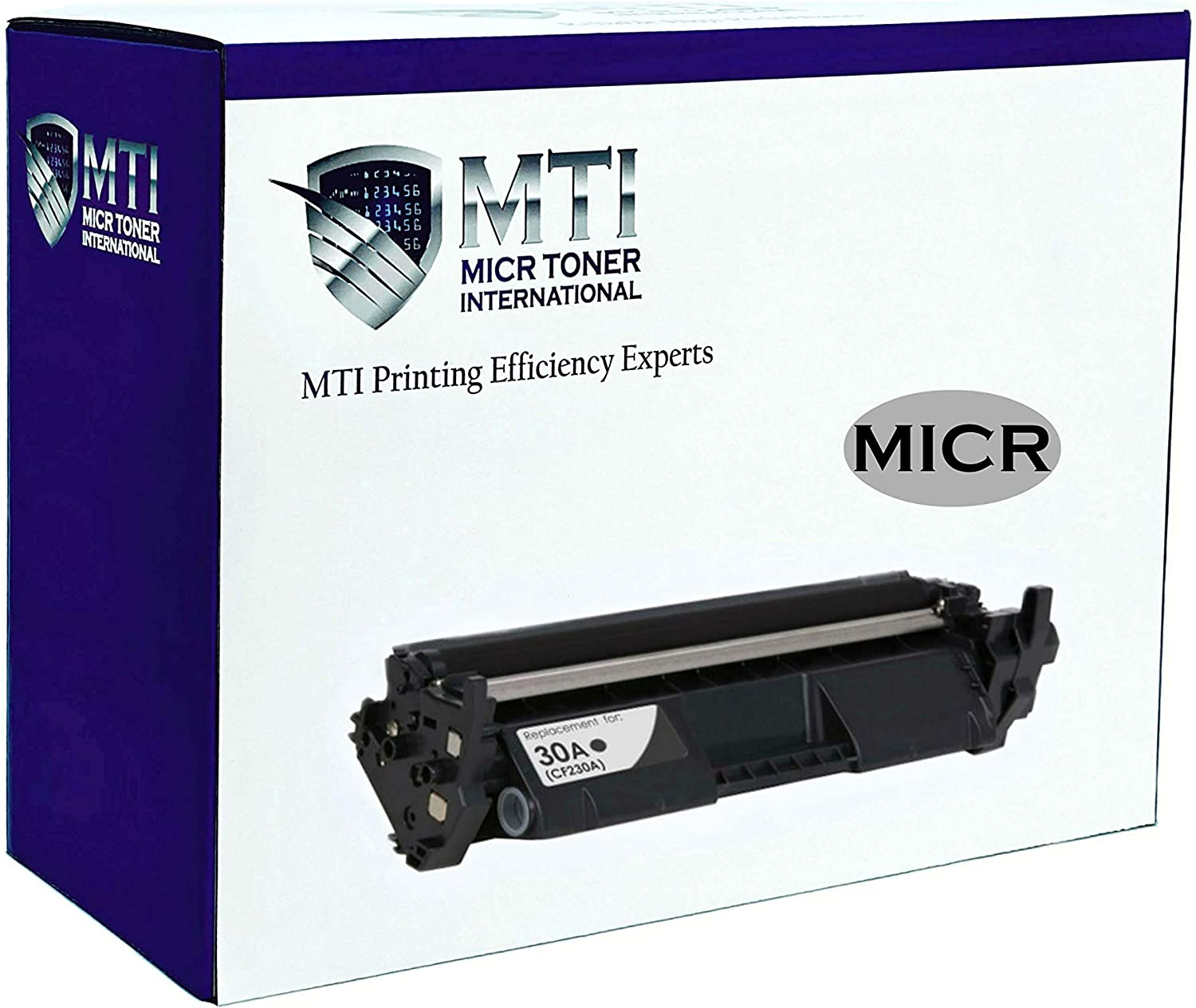 MICR Toner International Compatible Magnetic Ink Cartridge Replacement for HP 30A CF230A Laserjet M203 M227