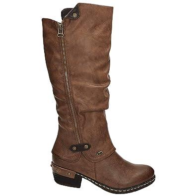 deaef9d23c54 Amazon.com | Rieker Bernadette 55 Women's Boot | Mid-Calf