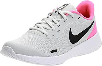 Nike Revolution 5 (GS), Zapatillas para Correr Unisex niños, Photon Dust Black Hyper Pink White, 39 EU: Amazon.es: Zapatos y complementos