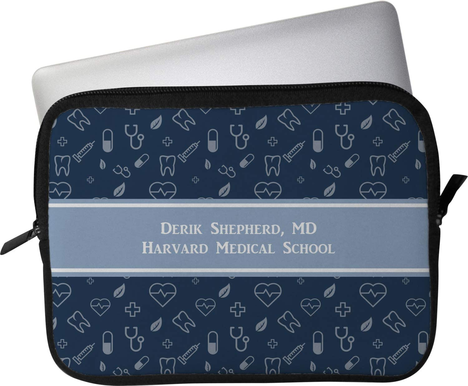 Personalized Medical Doctor Laptop Sleeve//Case 12