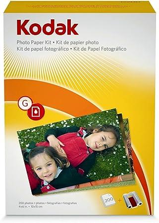 Kodak Juego de cartucho de tinta y papel fotogr/áfico 10 x 15 cm, 40 hojas