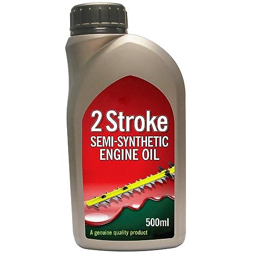 Spares2go - Aceite semi sintético de motor para cortacésped de ...