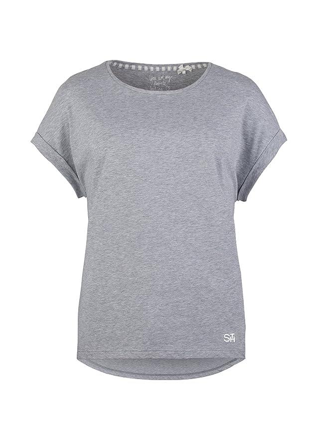 Herstellergr/ö/ße: XS Grey Mel. 1737.0 36 Grau Short Stories Damen Shorts Schlafanzughose