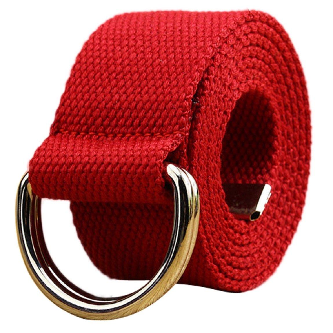 DKmagic Mens Casual Faux Leather Belt Buckle Waist Strap Belts