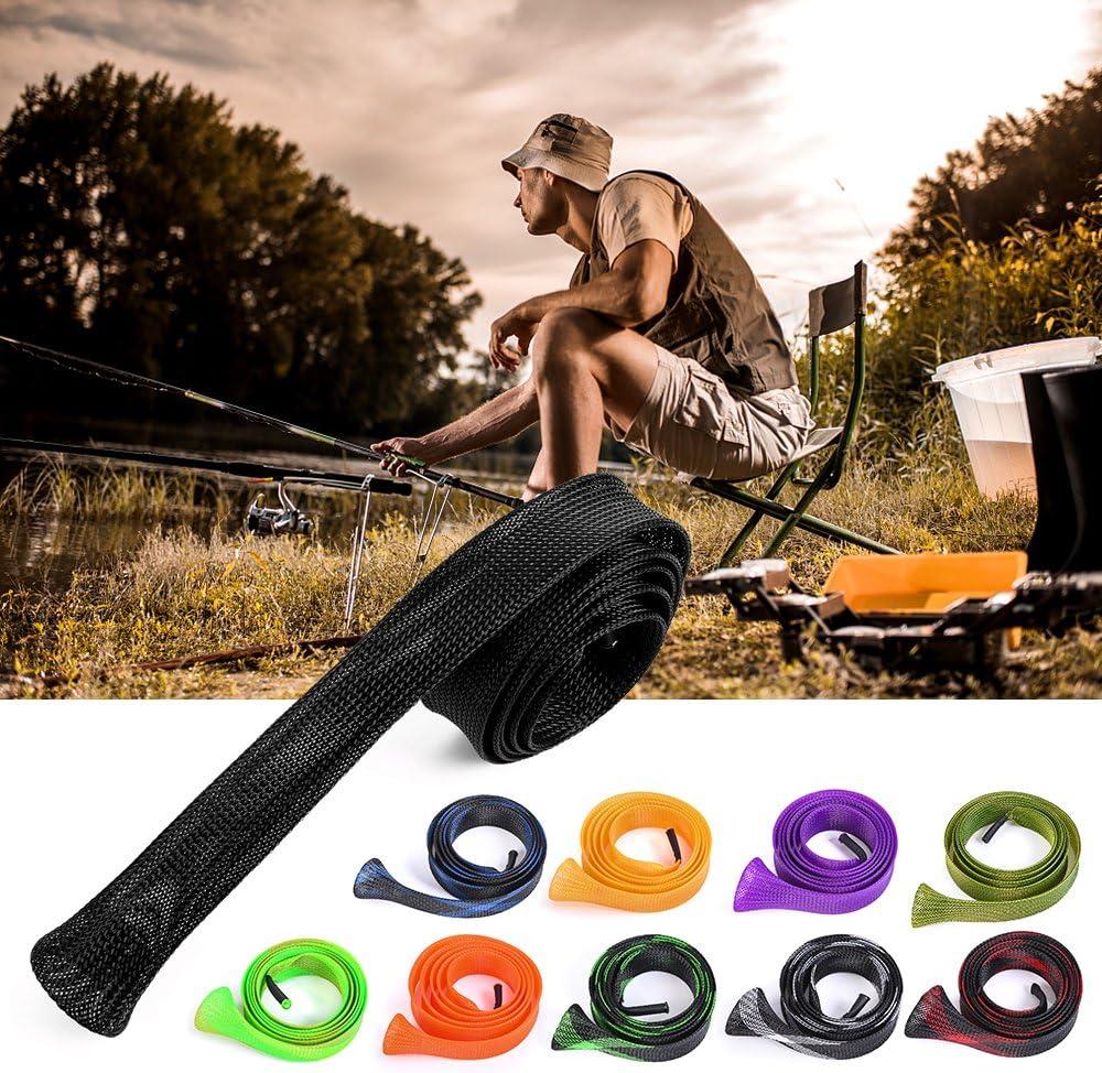Lepeuxi 170 cm Tige de Canne /à p/êche Tige de Canne /à p/êche Rod Sole Pole Glove Protector Outils