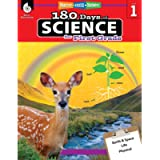 180 Days of Science: Grade 1 - Daily Science Workbook for Classroom and Home, Cool and Fun Interactive Practice…