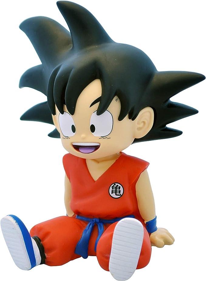 DragonPro Goku Sentado Mini Hucha 13,5 cm PVC Dragon Ball, Multicolor (PLY00080062): Amazon.es: Juguetes y juegos
