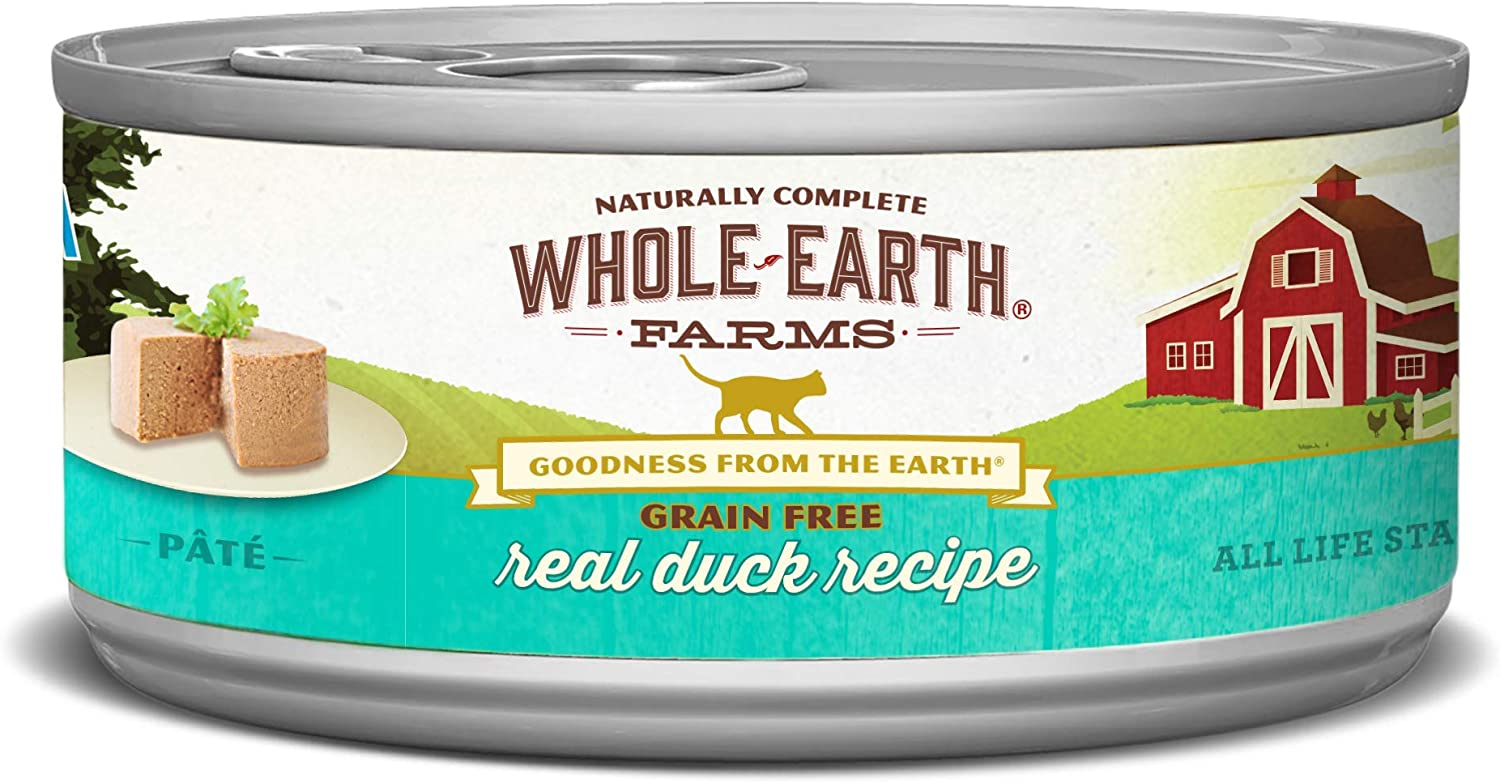Whole Earth Farms cat Food