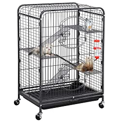 "Yaheetech 37'' X52"" Metal Ferret Cage"