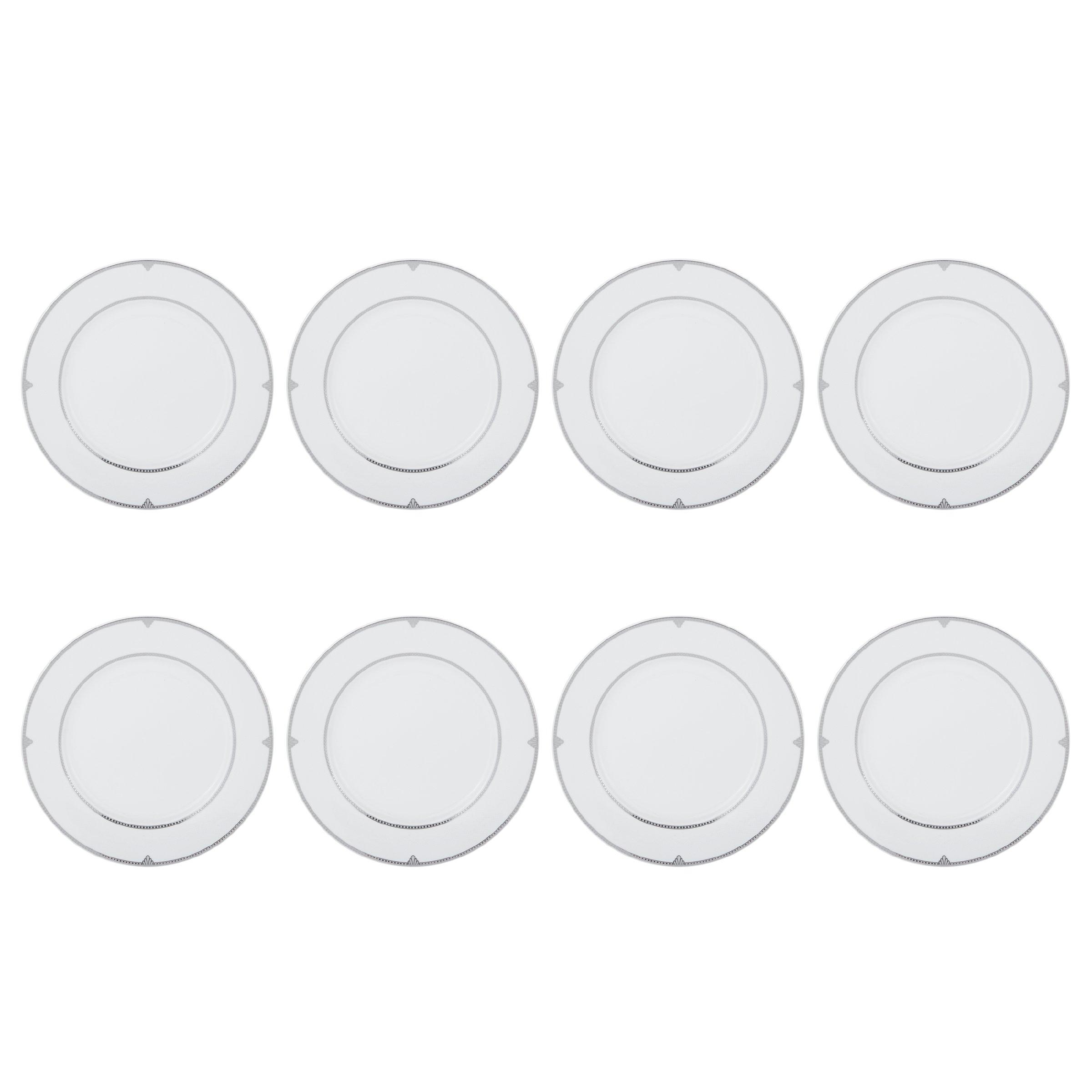 Mikasa Regent Bead 40-Piece Porcelain Dinnerware Set, Service for 8 by Mikasa (Image #2)