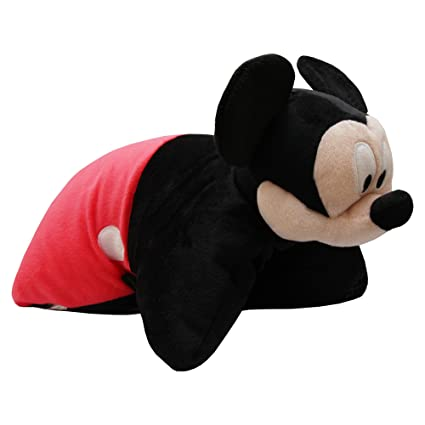 Disney Childrens/Kids Mickey Mouse 3D Pillow With Face (15in x 15in) (