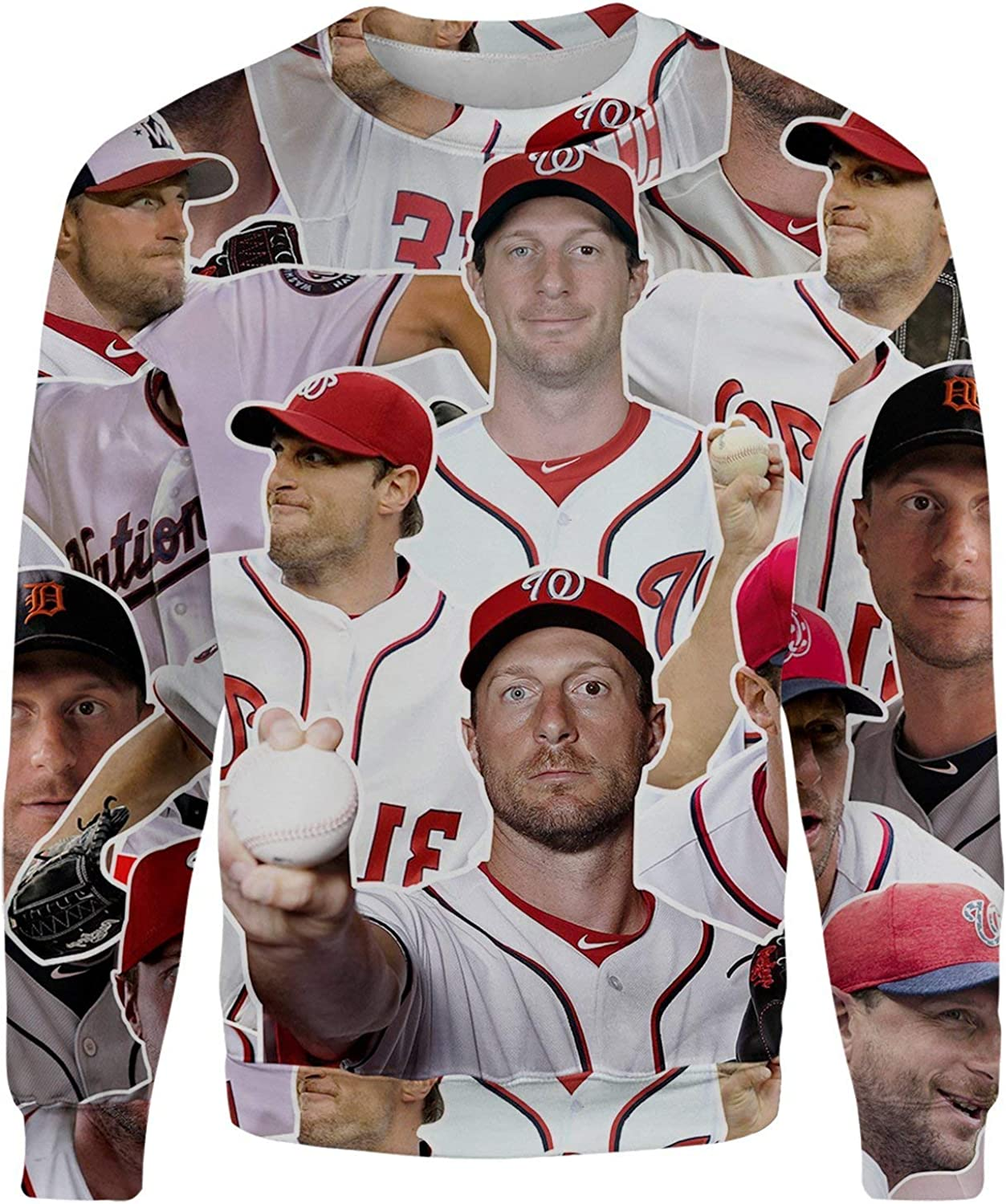 All Over Shirts Max Scherzer Sweatshirt