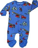 9b4f86aa5 Amazon.com  Elowel Baby Girls footed Fleece sleeper pajamas (size 6M ...