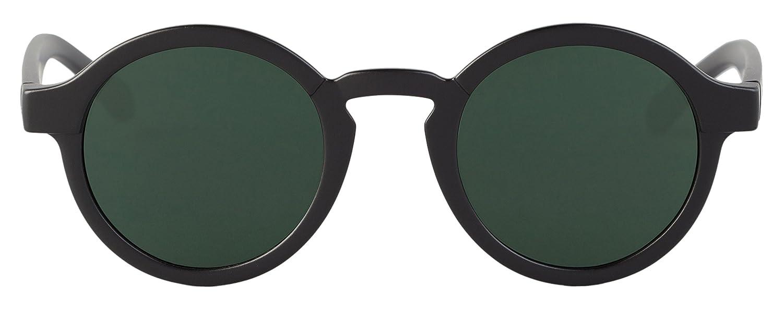 MR.BOHO Unisex Sonnenbrille Matte Black Dalston with Classical Lenses, Schwarz, onesize
