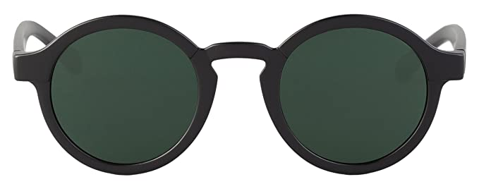 MR.BOHO, Matte black dalston with classical lenses - Gafas De Sol unisex color negro, talla única
