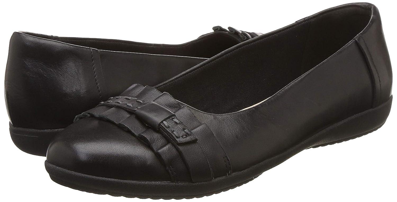 Chaussures Island Femme Noir En Clarks Habillé Cuir Détente Feya k80OnXwP