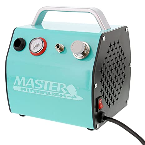 Master TC-77 Super Quiet High Performance Airbrush Air Compressor Hobby Tattoo by Master Airbrush