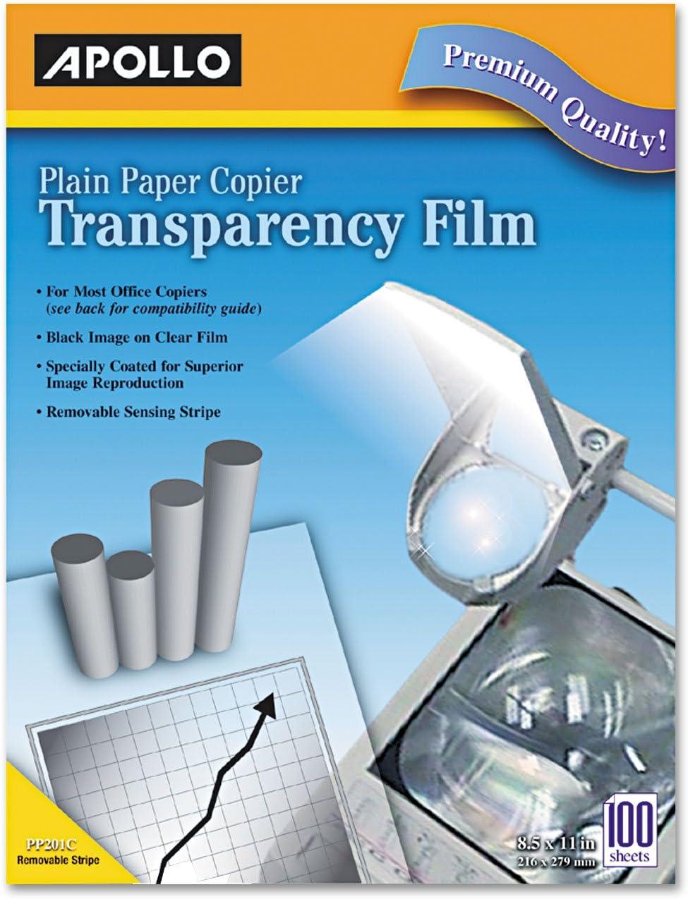Plain Paper Transparency Film for Laser Devices APOPP201C