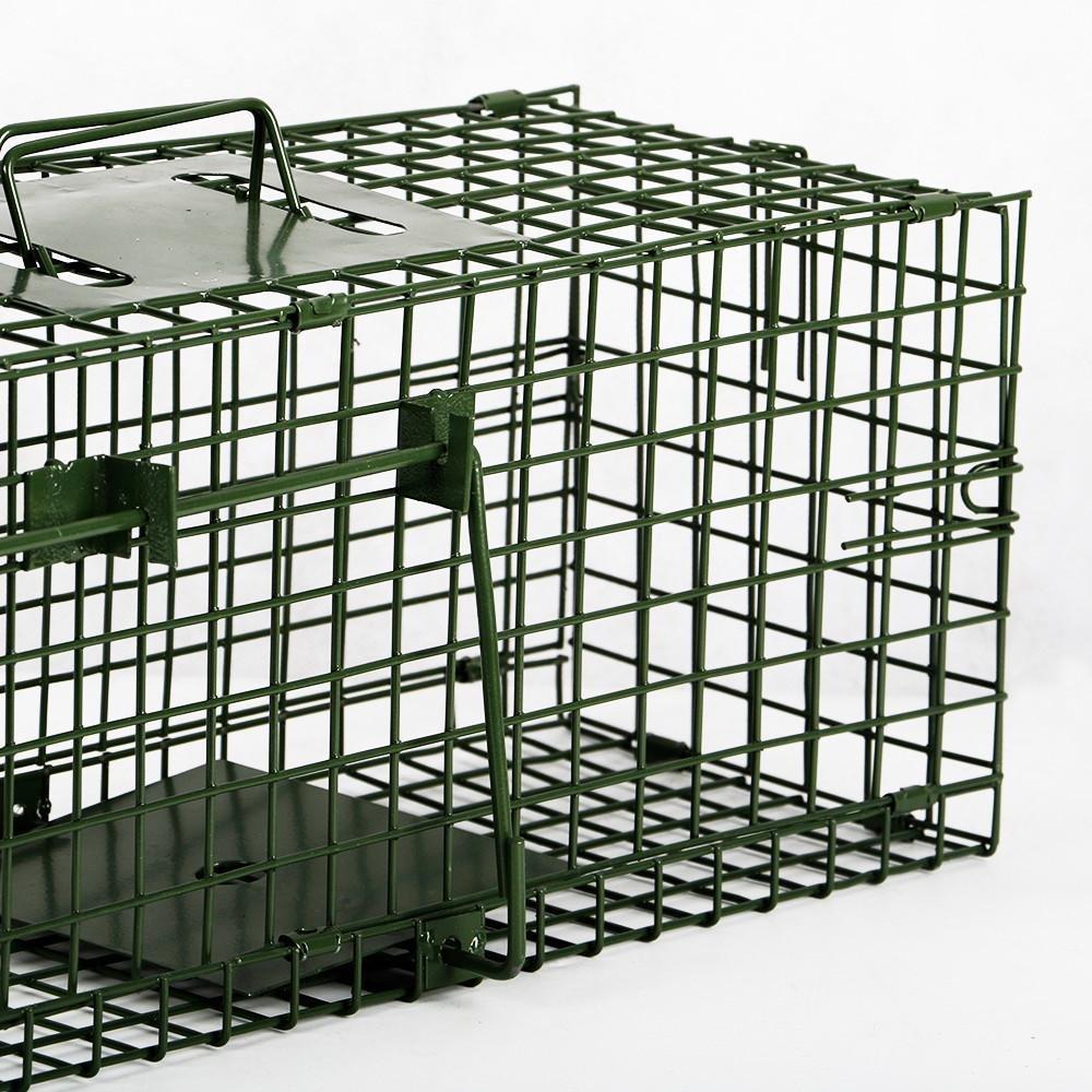 Yaheetech Trampa para Animales Vivos Jaula para Zorro Conejo Gatos ...