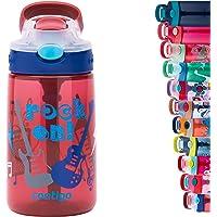 Contigo Gizmo Flip butelka na wodę dla dzieci, ze słomką, bez BPA, szczelna, idealna do szkoły i uprawiania sportu, 420…