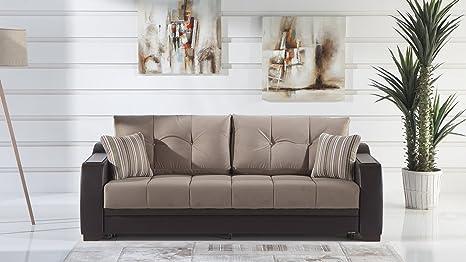 Amazon.com: Ultra Lilyum Vizon Sofa Sleeper: Home & Kitchen