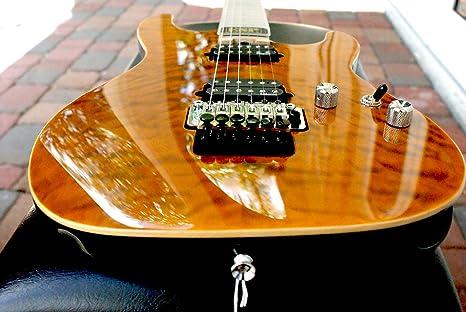 Esp e-ii ST-2 QM arce, ojo de tigre, guitarra eléctrica