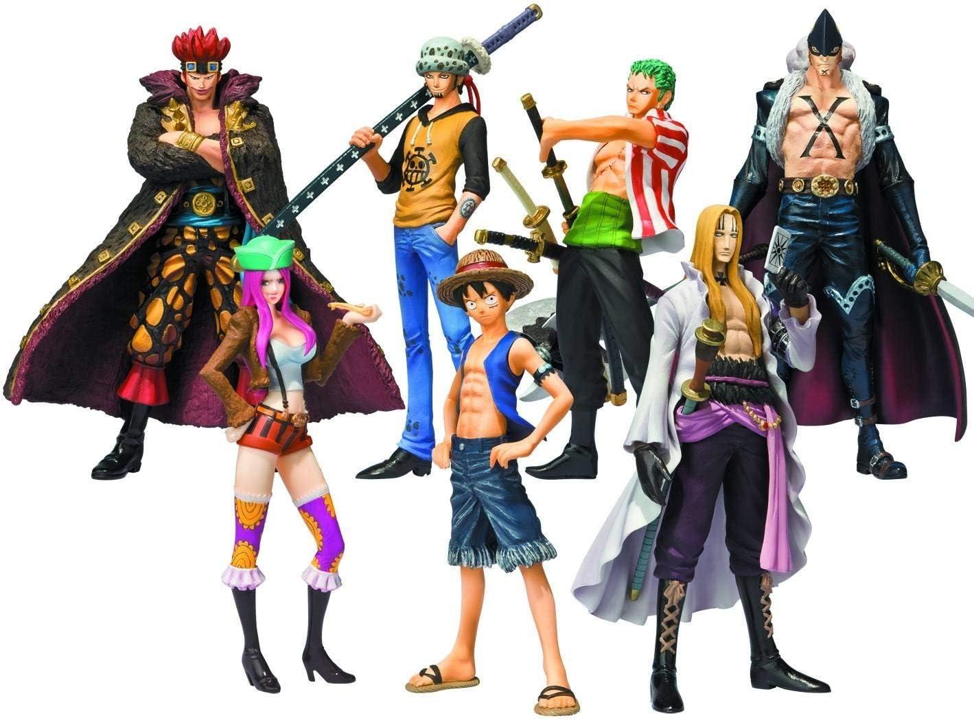 Bandai - Pack de 8 Figurines One Piece Soul of Hyper Figuration - 4543112728814: Amazon.es: Juguetes y juegos