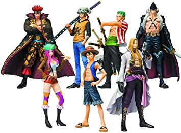 Bandai - Pack de 8 Figurines One Piece Soul of Hyper Figuration ...