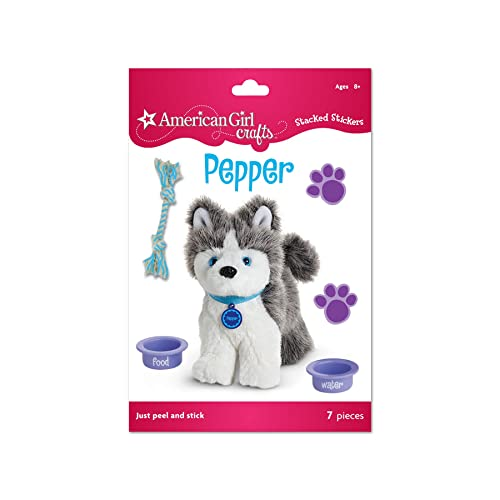American Girl Crafts Stacked Stickers, Pepper