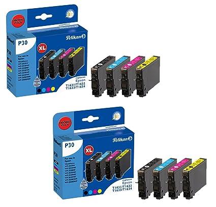 Pelikan cartuchos de tinta 4109521 P30 para para Epson T1636 T ...