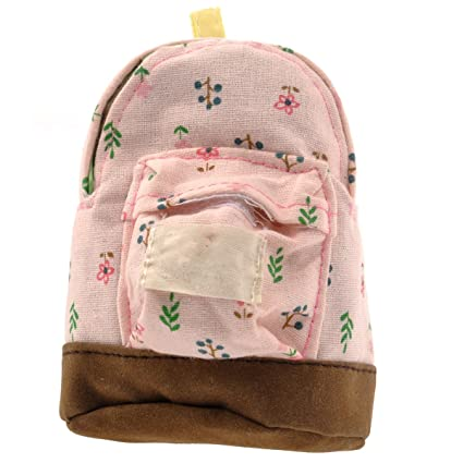 OULII Mini mochila bolso de la moneda de la flor billetera ...